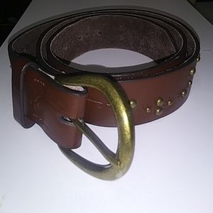 "Accessories - Leather Belt 42 1/2"" length x 1 1/2"" wide"